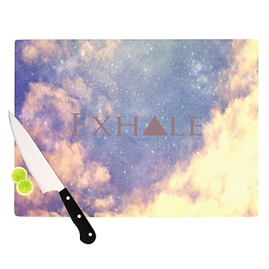 KESS InHouse Exhale Cutting Board; 11.5'' H x 15.75'' W