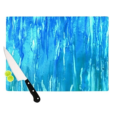 KESS InHouse Wet & Wild Cutting Board; 11.5'' H x 15.75'' W
