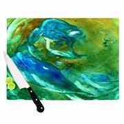 KESS InHouse Hurricane Cutting Board; 11.5'' H x 8.25'' W