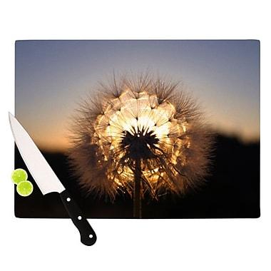 KESS InHouse Glow Cutting Board; 11.5'' H x 8.25'' W