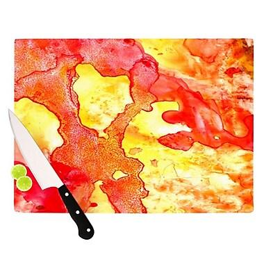 KESS InHouse Hot Hot Hot Cutting Board; 11.5'' H x 15.75'' W
