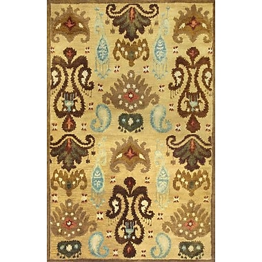 KAS Rugs Tapestry Gold Ferozi Area Rug; 8' x 10'6''