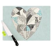 KESS InHouse Comheartment Cutting Board; 11.5'' H x 15.75'' W