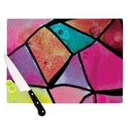 KESS InHouse Stain Glass 3 Cutting Board; 11.5'' H x 15.75'' W