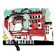 KESS InHouse Montmartre Cutting Board; 11.5'' H x 15.75'' W