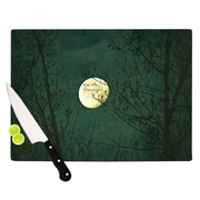 KESS InHouse Kiss Me Goodnight Cutting Board; 11.5'' H x 15.75'' W