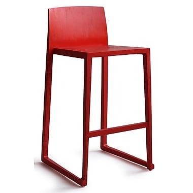OSIDEA USA Hanna Bar Stool; Red