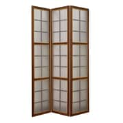 Screen Gems 71'' x 53'' Moroccan 3 Panel Room Divider