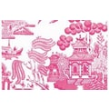 Plat du Jour Willow Placemat (Set of 50); Peony