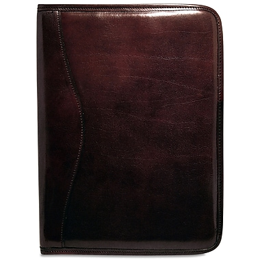 Jack Georges Sienna Letter Size Writing Pad; Cognac