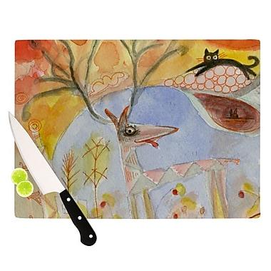 KESS InHouse Promise of Magic Cutting Board; 11.5'' H x 8.25'' W