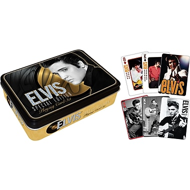 Aquarius Elvis Playing Card Tin Set
