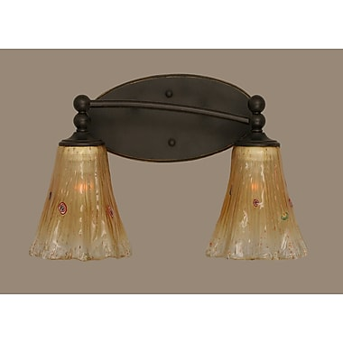 Toltec Lighting Capri 2 Light Vanity Light