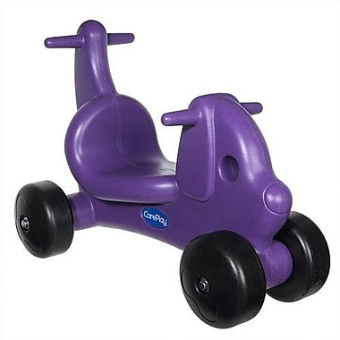 CarePlay Puppy Dog Push/Scoot Ride-On; Purple