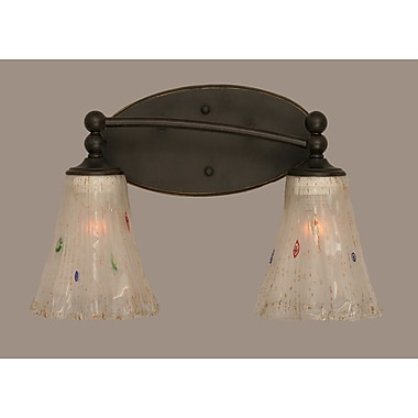 Toltec Lighting Capri 2 Light Vanity Light