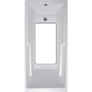 No Slip Mat by Versatraction Bath Tub and Shower Mat; White