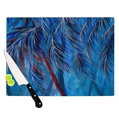 KESS InHouse Tropical Cutting Board; 11.5'' H x 8.25'' W