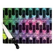KESS InHouse Paint Tubes II Cutting Board; 11.5'' H x 8.25'' W
