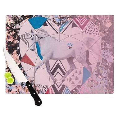 KESS InHouse Unicorn Cutting Board; 11.5'' H x 8.25'' W