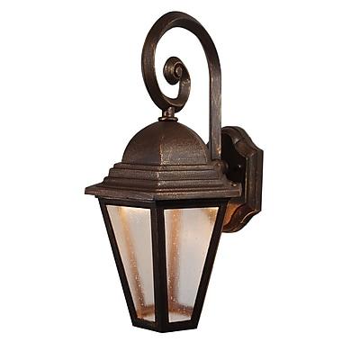 Melissa Kiss Series 1 Light Outdoor Wall Lantern; Patina Bronze