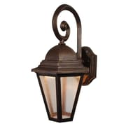 Melissa Kiss Series LED Outdoor Wall Lantern; White