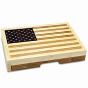 Picnic Time Old Glory Cutting Cheese Tray