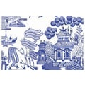 Plat du Jour Willow Placemat (Set of 50); Marine