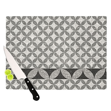 KESS InHouse Diamond Cutting Board; 11.5'' H x 8.25'' W