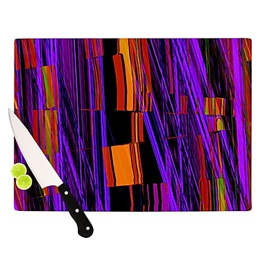 KESS InHouse Threads Cutting Board; 11.5'' H x 15.75'' W