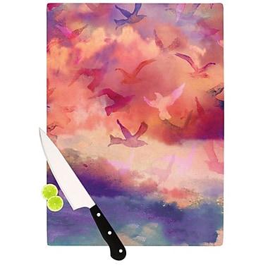 KESS InHouse Souffle Sky Cutting Board; 11.5'' H x 15.75'' W