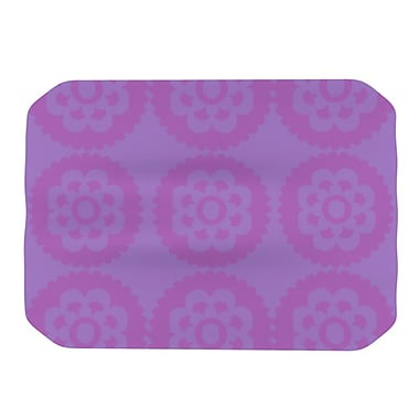 KESS InHouse Moroccan Placemat; Lilac