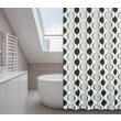 LJ Home Aquarius Polyester Shower Curtain Set