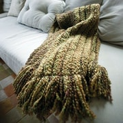 Bedford Cottage-Kennebunk Home Auburn Woven Throw; Neutral
