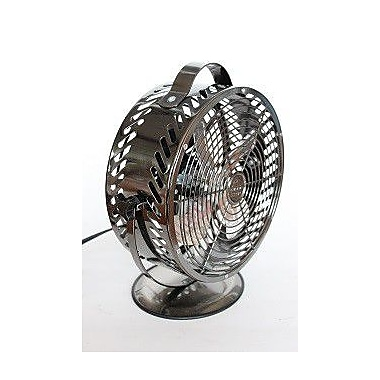 WBM LLC Himalayan Breeze D cor Fan; Black Chrome
