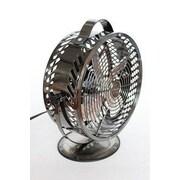 WBM LLC Himalayan Breeze Table Fan; Black Chrome