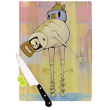 KESS InHouse Good Day Cutting Board; 11.5'' H x 15.75'' W