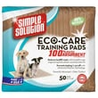Simple Solution Eco-Care Puppy Training Pads - 50 Pad Pack