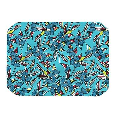 KESS InHouse Paper Leaf Placemat; Blue