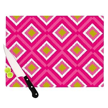 KESS InHouse Moroccan Tile Cutting Board; 11.5'' H x 8.25'' W