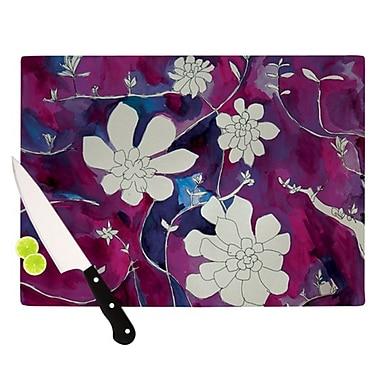 KESS InHouse Succulent Dance III Cutting Board; 11.5'' H x 15.75'' W