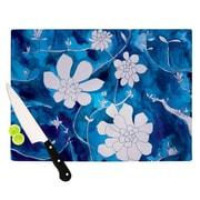 KESS InHouse Succulent Dance 1 Cutting Board; 11.5'' H x 15.75'' W