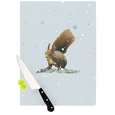 KESS InHouse Squirrel Cutting Board; 11.5'' H x 8.25'' W
