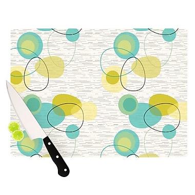 KESS InHouse Vaniretro Cutting Board; 11.5'' H x 15.75'' W