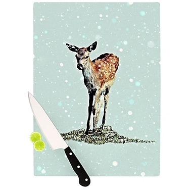 KESS InHouse Fawn Cutting Board; 11.5'' H x 15.75'' W