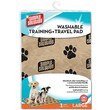 Simple Solution Washable Training and Travel Pad; Large (10.63'' H x 8.5'' W x 1.75'' L)
