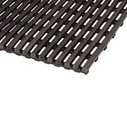 Mats Inc. World's Best Barefoot Mat 3' x 5' Safety and Comfort Mat in Black
