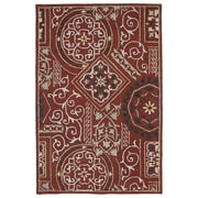 Kaleen Brooklyn Red Xander Area Rug; 7'6'' x 9'