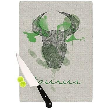 KESS InHouse Taurus Cutting Board; 11.5'' H x 15.75'' W x 0.15'' D