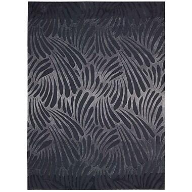 Nourison Contour Charcoal Area Rug; 8' x 10'6''