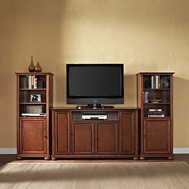 Crosley Alexandria Entertainment Center; Classic Cherry